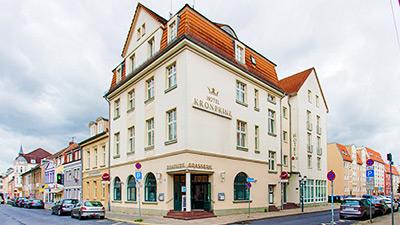 Google Panoramatour Hotel Kronprinz, Greifswald