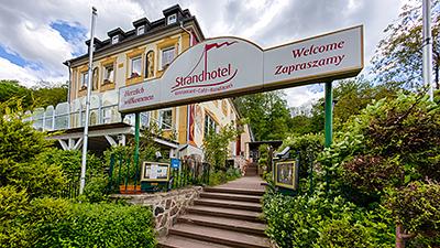 Google Panoramatour Strandhotel Buckow